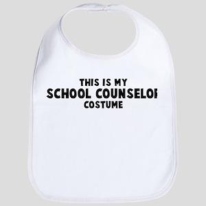 School Counselor costume Bib