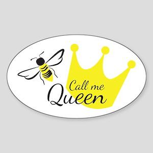 Call Me Queen Bee Sticker