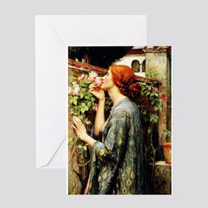 The Soul of the Rose Greeting Cards