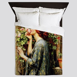 The Soul of the Rose Queen Duvet