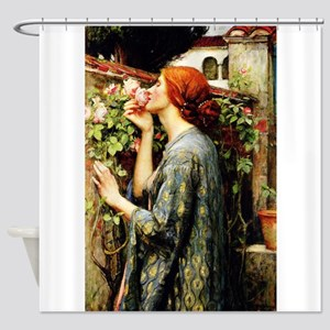 The Soul of the Rose Shower Curtain