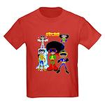 Afro-Man (babies) Kids Dark T-Shirt