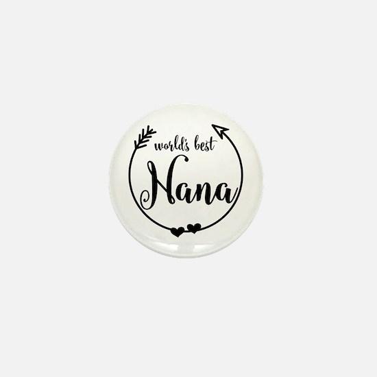 World's Best Nana Mini Button