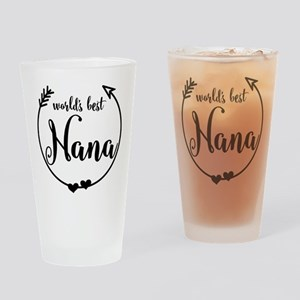 World's Best Nana Drinking Glass