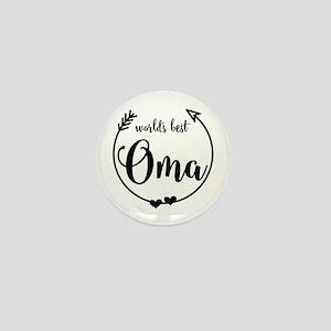 World's Best Oma Mini Button