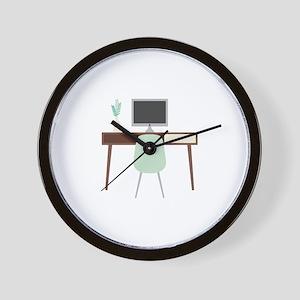Midcentury Modern Desk Wall Clock