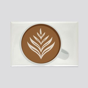 Latte Coffee Art Magnets