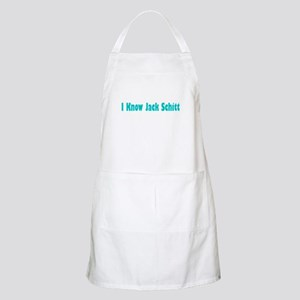 I Know Jack Schitt BBQ Apron
