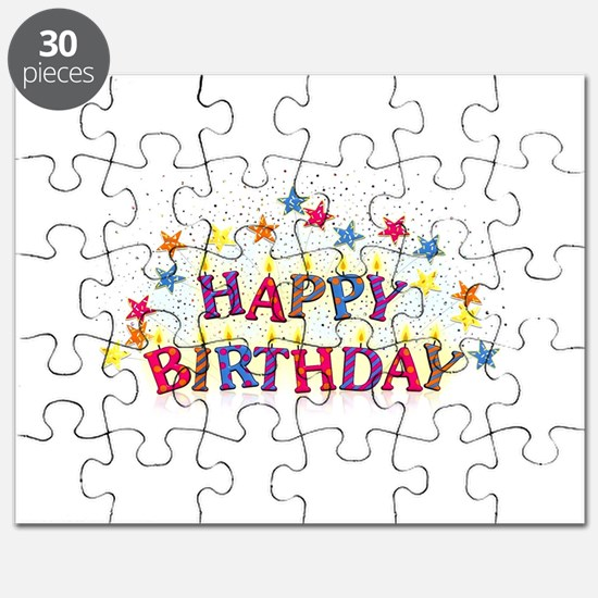 happy birthday Puzzle
