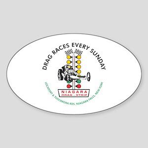 Niagara Drag Strip Sticker