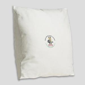 Niagara Drag Strip Burlap Throw Pillow