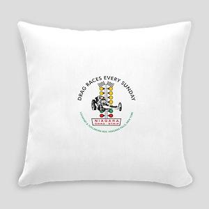 Niagara Drag Strip Everyday Pillow