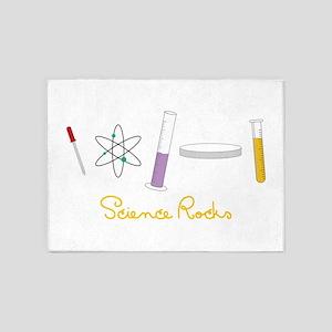 Science Rocks 5'x7'Area Rug