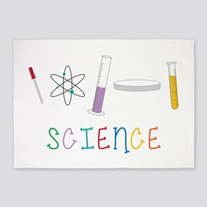 Science 5'x7'Area Rug