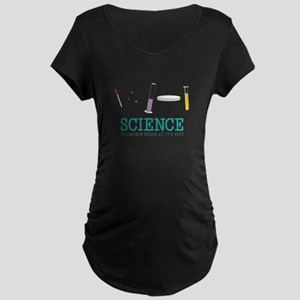 Science Is Best Maternity T-Shirt