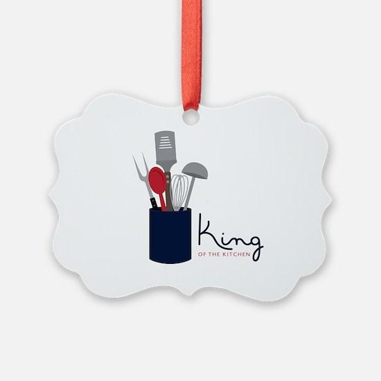 King Of Kitchen Ornament