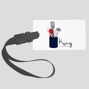 King Of Kitchen Luggage Tag