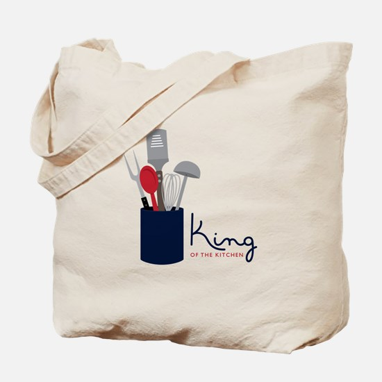 King Of Kitchen Tote Bag