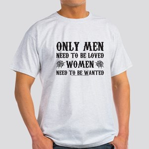 SOA Only Men Need To Be Loved Light T-Shirt