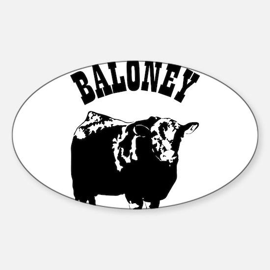 Baloney Decal