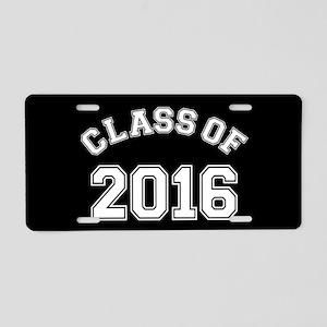 2016 graduation aluminum license plates cafepress