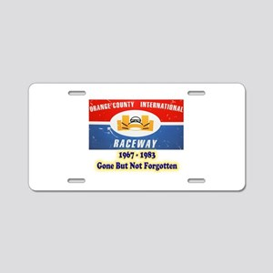 Orange County International Raceway Aluminum Licen