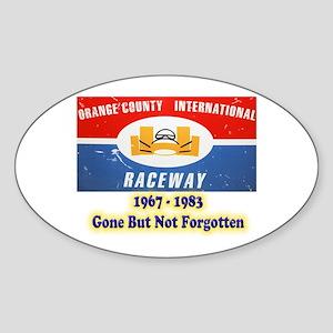 Orange County International Raceway Sticker