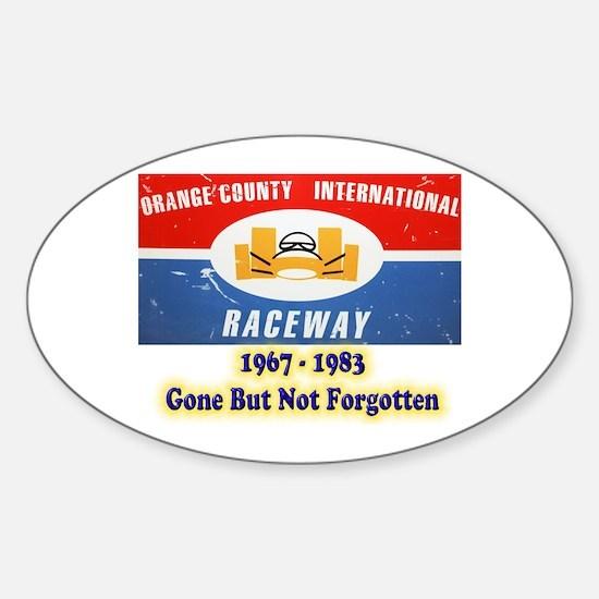 Orange County International Raceway Decal