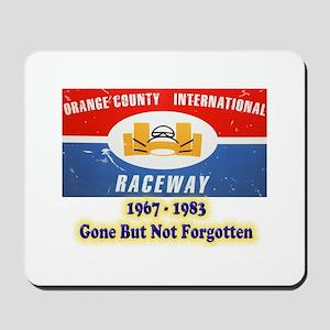 Orange County International Raceway Mousepad