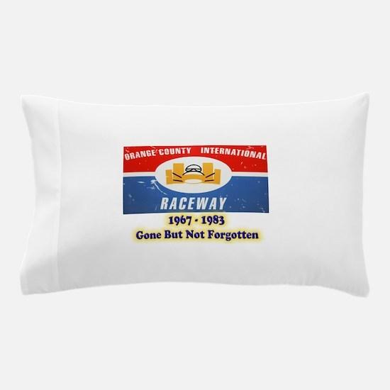 Orange County International Raceway Pillow Case
