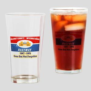 Orange County International Raceway Drinking Glass