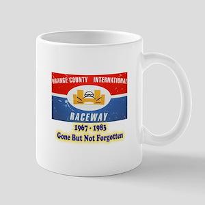 Orange County International Raceway Mugs