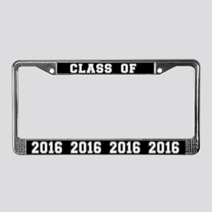 Class Of 2016 License Plate Frame