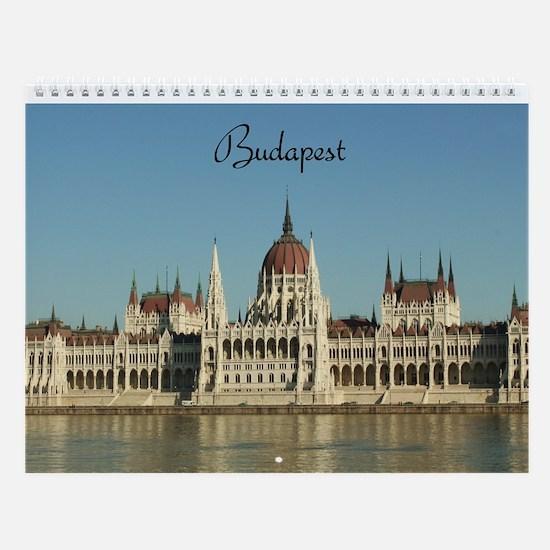Budapest Wall Calendar, Vol. 1