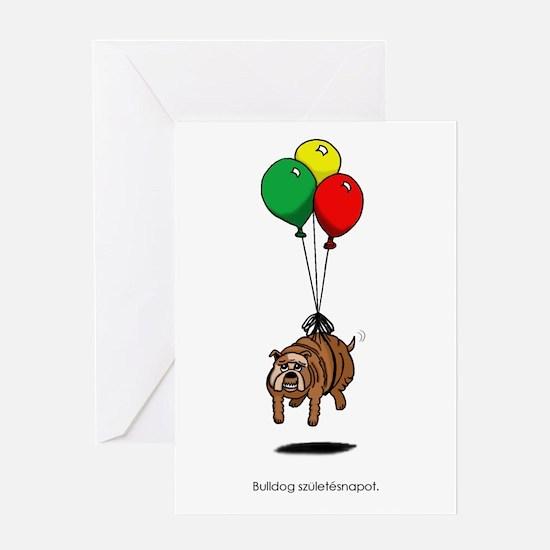 Hungarian Birthday Greeting Card
