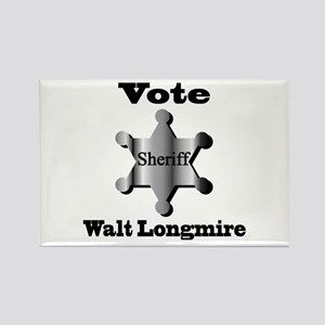 Vote Sheriff Walt Longmire. Magnets