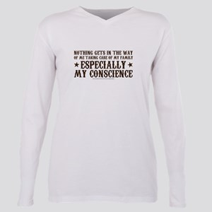 SOA Gemma Conscience Plus Size Long Sleeve Tee