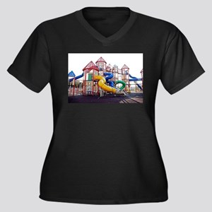 Kids Play Ground Plus Size T-Shirt