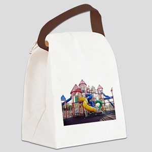 Kids Play Ground Canvas Lunch Bag