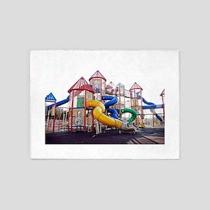 Kids Play Ground 5'x7'Area Rug