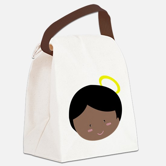 Cute Angel cartoon Canvas Lunch Bag
