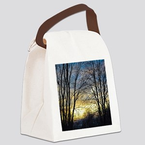 Evening Sky Canvas Lunch Bag
