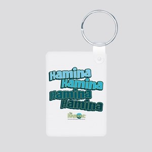 The Honeymooners: Haminia Aluminum Photo Keychain