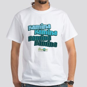 The Honeymooners: Haminia Hamina White T-Shirt
