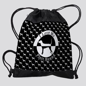 Plott Hound Drawstring Bag