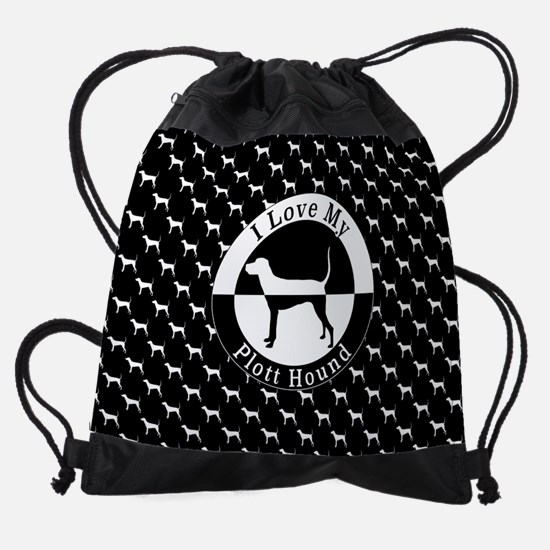 Plott Hound Drawstring Bag
