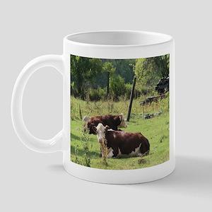 Cattle in a Field Mug