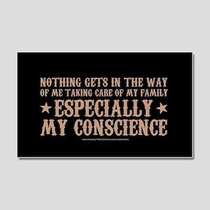 SOA Gemma Conscience Car Magnet 20 x 12