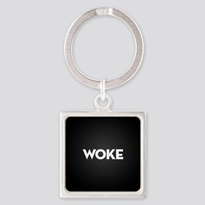 Woke Square Keychain