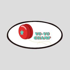 Yo-Yo Champ Patch